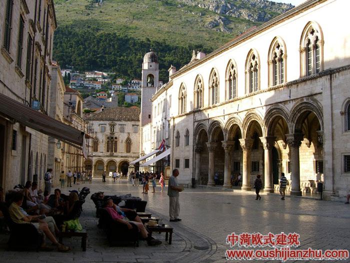 (转载)文艺复兴时期的建筑在东欧