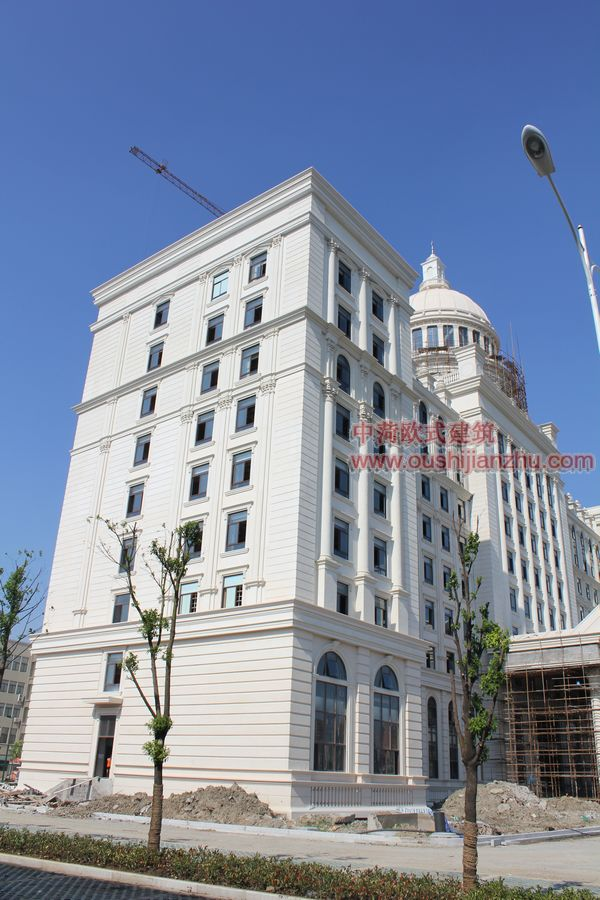 欧式建筑办公楼04