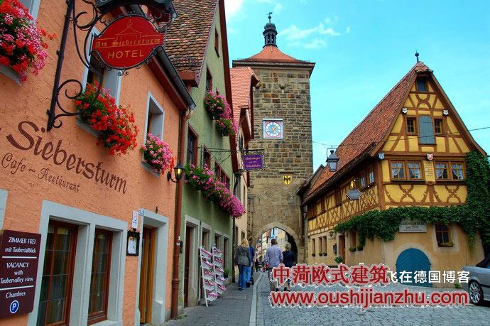 德国小镇图片_