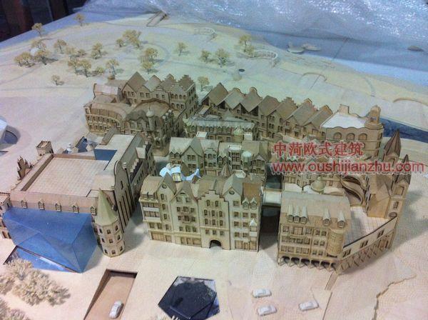 常州诺丁小镇模型1