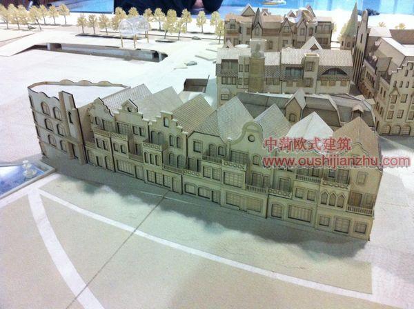常州诺丁小镇模型4