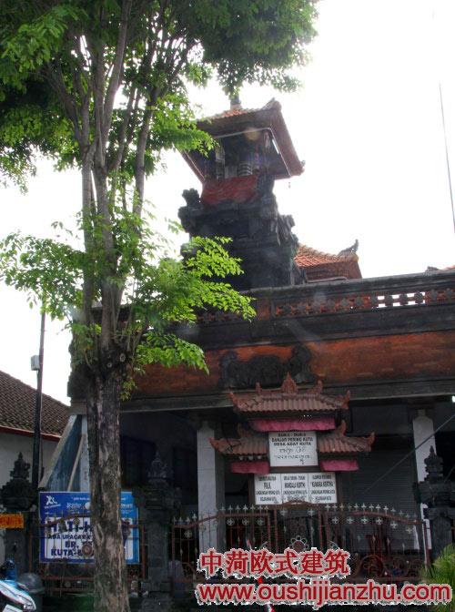 巴厘岛 库塔街景