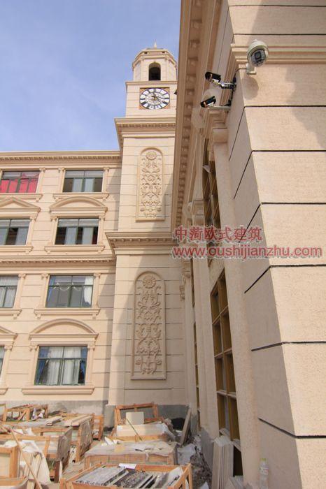 欧式风格酒店施工照片3