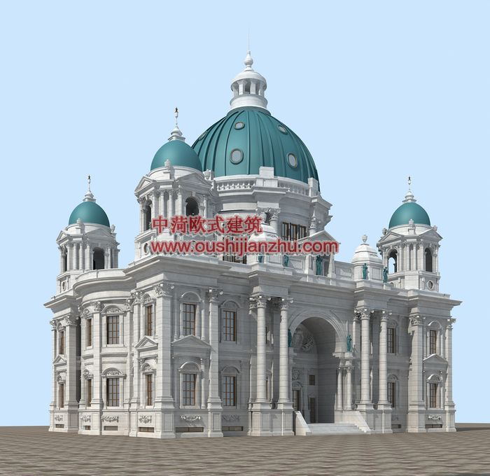 中菏欧式建筑作品赏析--大连海湾会所系列(三)转载