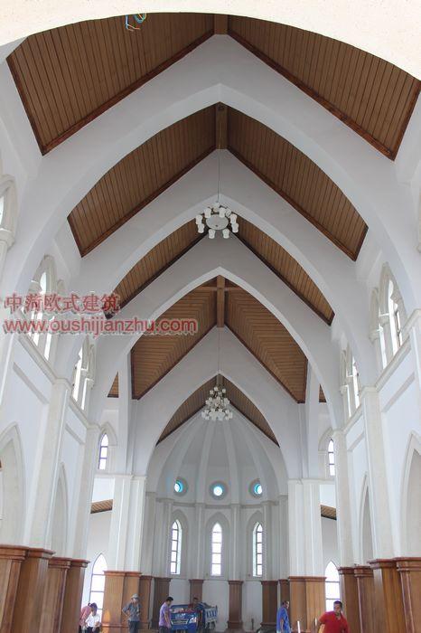 山东天主教堂竣工照片5