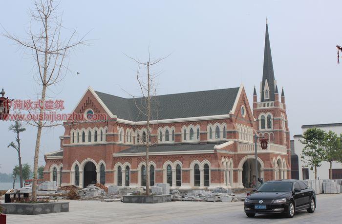 山东天主教堂竣工照片1