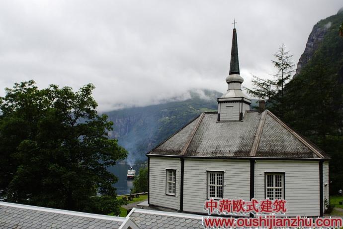 挪威风景区幽静小别墅(转载)