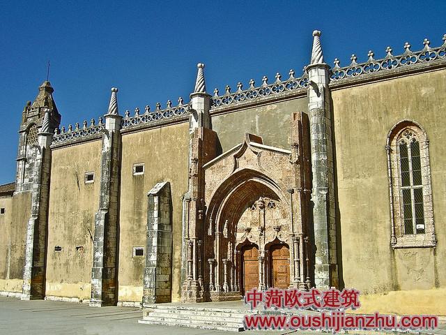古欧式大理石建筑