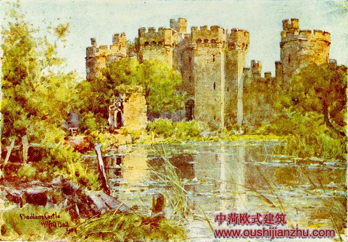 博迪恩欧式建筑城堡赏析(转载)