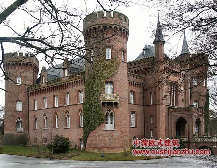 欧式城堡花园围墙