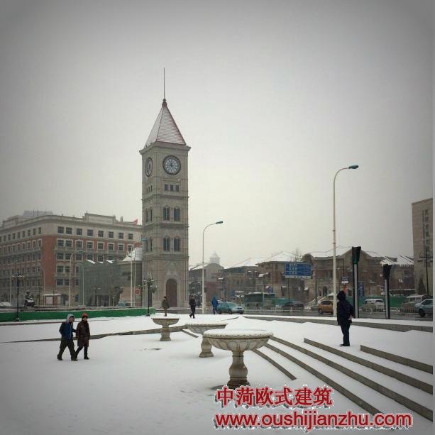 天津的意大利风情街建筑