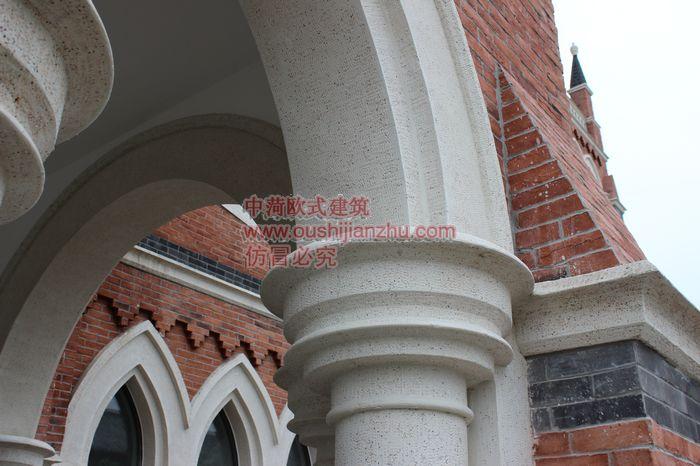 教堂施工照片