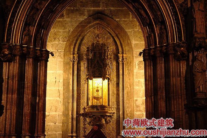 巴伦西亚大教堂中