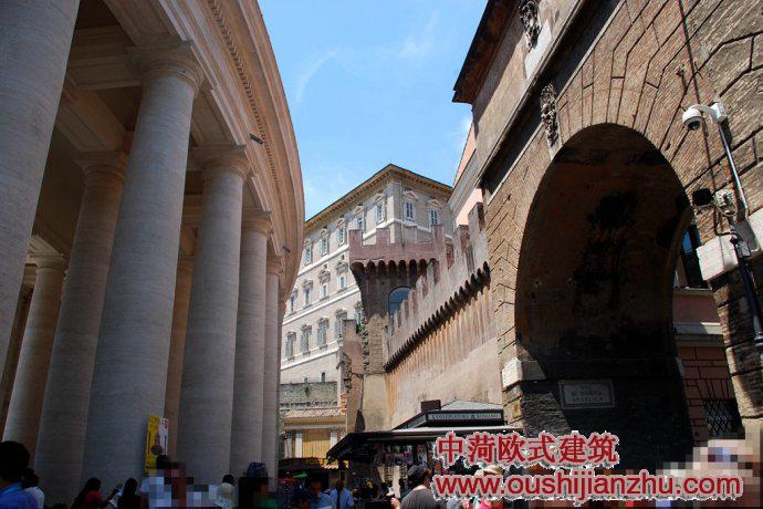 梵蒂冈.圣彼得大教堂建筑风格