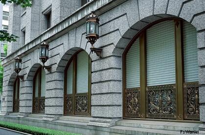 真石漆工艺的建筑图片