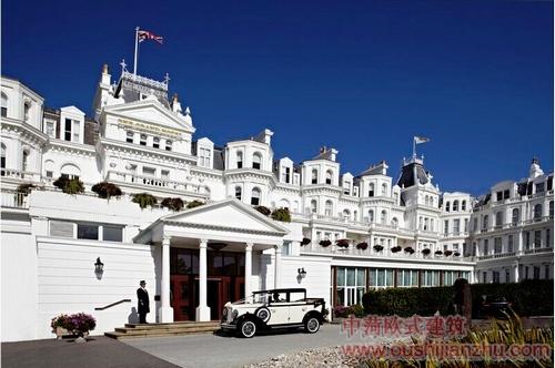 维多利亚建筑风格的酒店1