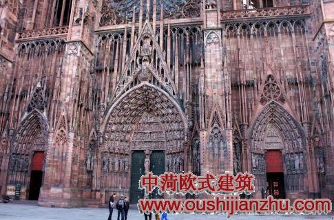 欧式建筑之哥特式大教堂(转载)