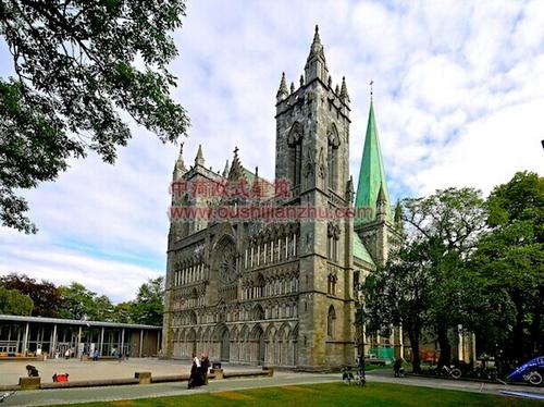 挪威特隆赫姆尼德罗斯大教堂2