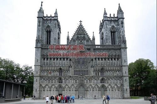 挪威特隆赫姆尼德罗斯大教堂1
