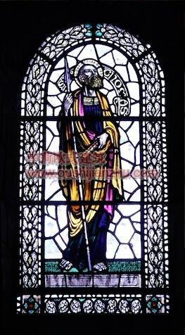 教堂的彩窗画4