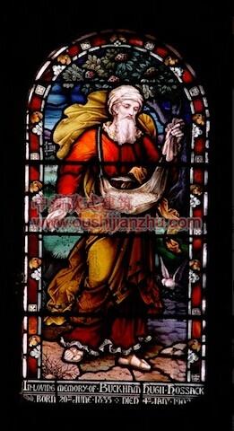 教堂的彩窗画8