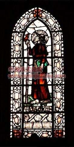教堂的彩窗画3