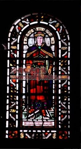 教堂的彩窗画9