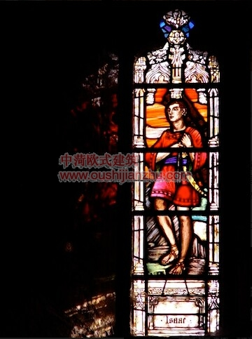 教堂的彩窗画18