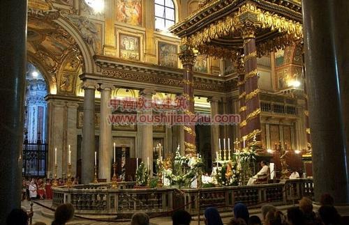 罗马马杰奥尔圣母教堂4