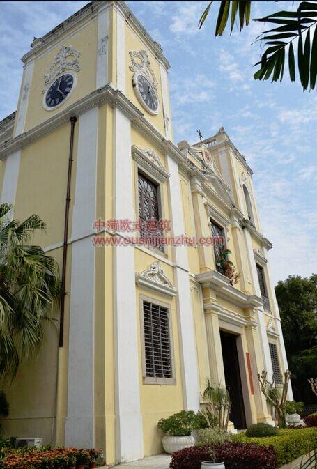 澳门圣老楞佐教堂2