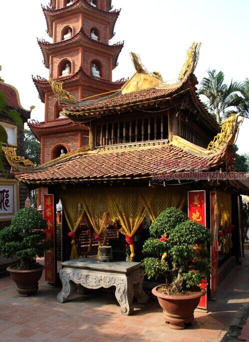 越南河内镇国寺6