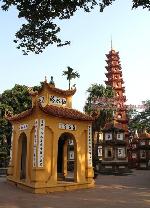 越南河内镇国寺5