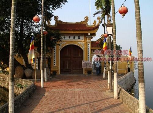 越南河内镇国寺2