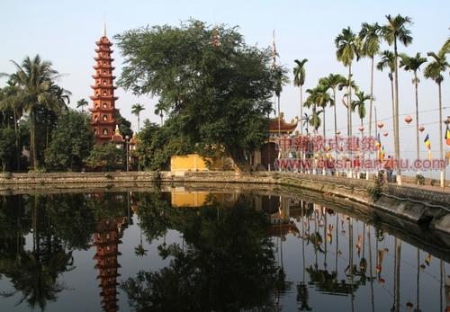 越南河内镇国寺1