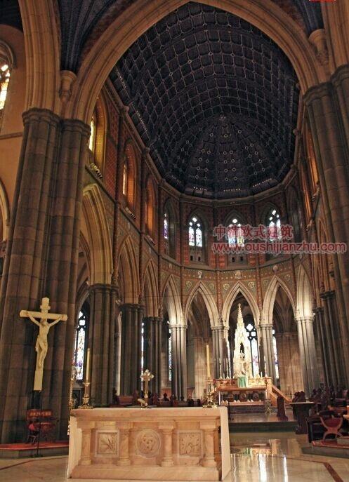 墨尔本圣派翠克大教堂4