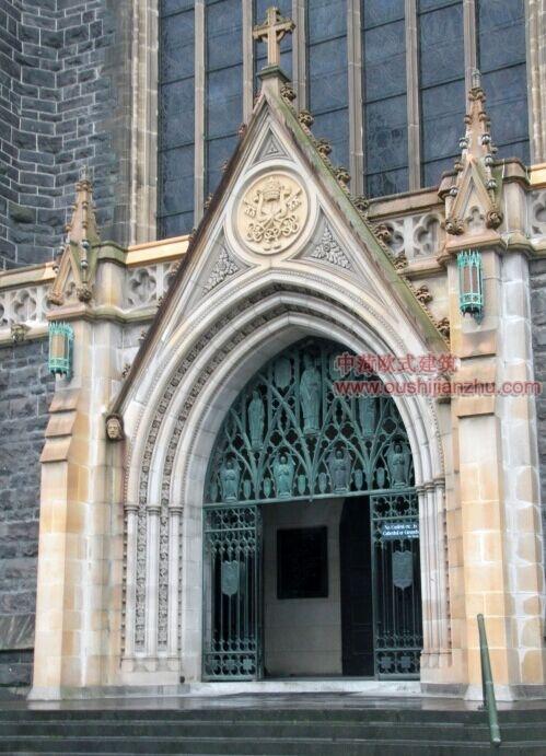 墨尔本圣派翠克大教堂3