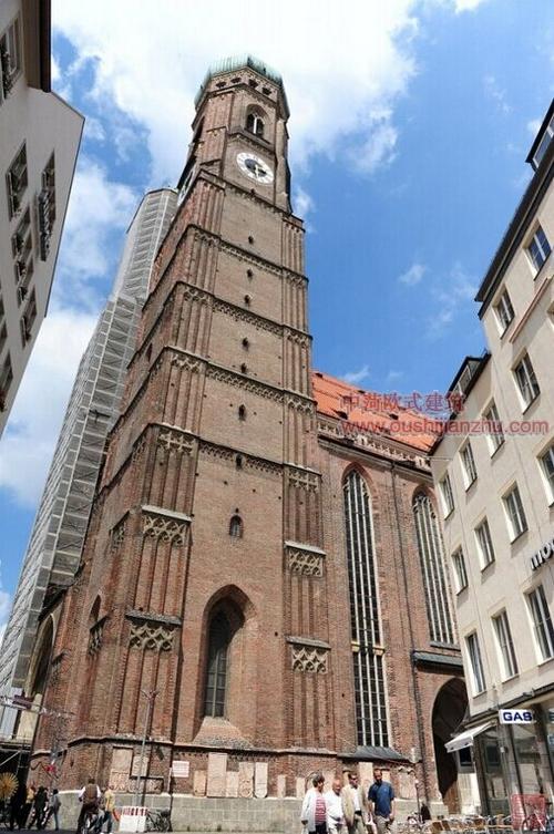 慕尼黑的圣母教堂1