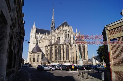 法国亚眠圣母大教堂2
