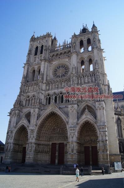法国亚眠圣母大教堂1