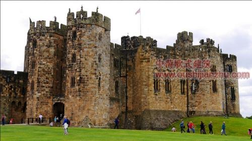英国艾维克城堡3