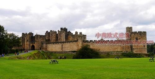 英国艾维克城堡1