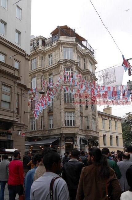 伊斯坦布尔的步行街2