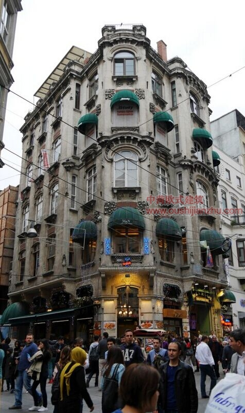 伊斯坦布尔的步行街1