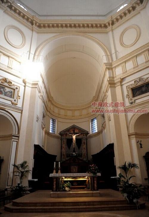 阿西西古镇的圣鲁菲诺教堂4