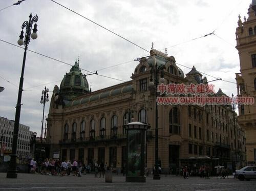 布拉格的市民会馆7