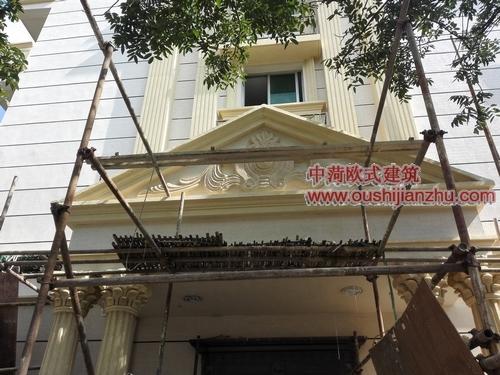 青田欧陆风情街改造药监局6