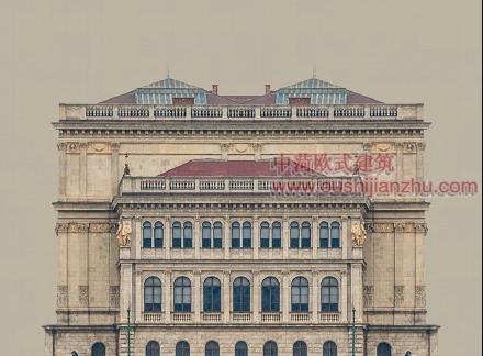 欧式风格住宅楼经典建筑造型2
