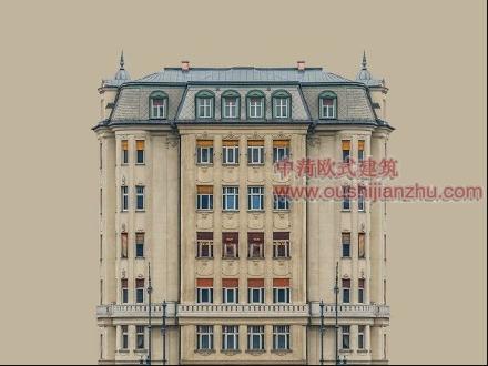 欧式风格住宅楼经典建筑造型1