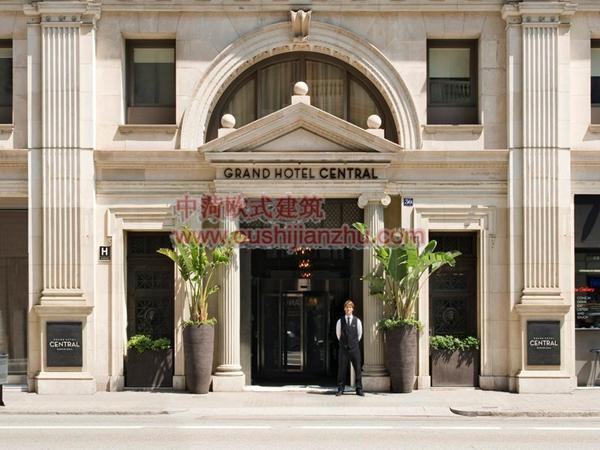巴塞罗那Grand Hotel Central2