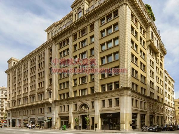 巴塞罗那Grand Hotel Central1